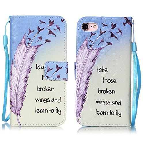 Apple【Eine Vielzahl von Mustern 】iPhone 6 plus Handyhülle Case für iPhone 6 plus Hülle im Bookstyle, PU Leder Flip Wallet Case Cover Schutzhülle für Apple iPhone 6 plus(5.5 Zoll) Schale Handyhülle Cov Farbe-7