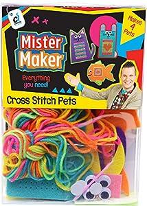 Mister Maker 88472 - Kit de Punto de Cruz para Mascotas