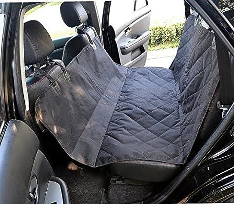Coussinets de siège pour chien hamac étanche - Grand siège arrière Sièges pour sièges pour automobiles, camions et VUS - Machine lavable, sans glissement par