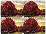 Crimson Trees Tischunterlage 4 Stück (s)