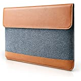 """Bag For Apple MacBook 13"""" 13.3"""" Inch Classic Travel Bag Apple MacBook Sleeve Carry Case Bag, Sleeve Wool Felt Leather Bag Case Sleeve Cover For 13"""" 13.3 Inch Apple Macbook Pro 13"""" 13.3 Inch / Macbook Air 13"""" 13.3 Inch / Macbook Pr"""