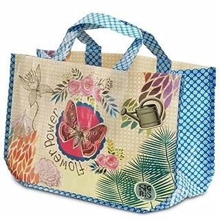 Art Deco Home - Shoppingtasche FLOWER POWER, 43x29 cm - 3137SG