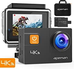 apeman 4K WIFI Action Cam (A80FR)