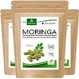 Moringa Energia Tabs 950mg o Moringa cápsulas 600mg - Oleifera, vegetariano, Producto de calidad de MoriVeda (360 tabs)