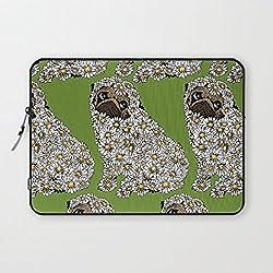 Funda blanda para portátil Protectora para MacBook Pro/portátiles/Notebook y diseño de pug