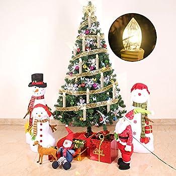 Kefflum 30er Weinachten Led Kerzen Kabellos Weihnachtskerzen Christbaumkerzen Dimmen Flackern Baumkerze-set,kerzen Lichtfarbe Warmweiß 4