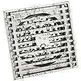 Bodenablauf/Wasser Seal und geruchlos Bodenablauf Kupfer Panel mit Edelstahl Core Badezimmer Bodenablauf Badezimmer Bathing and odorization floor drain