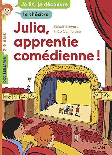 Julia, apprentie comédienne