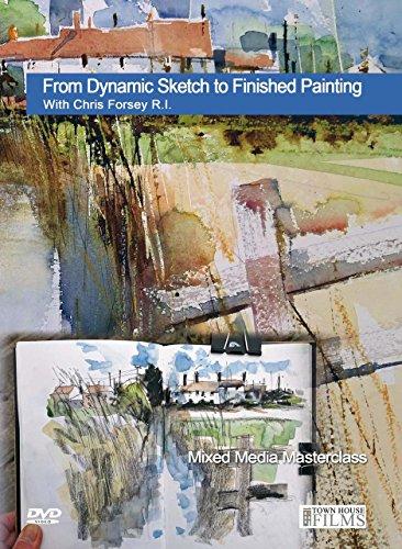 Von Dynamic Sketch zu fertigen Malen mit Chris FORSEY-Typen.