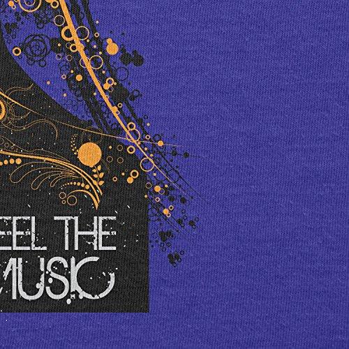 Texlab–Feel the music–sacchetto di stoffa Marine