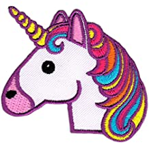 Pegatina Unicornio caballo Auriculares parche para de tamaño 5,7x 6,6cm