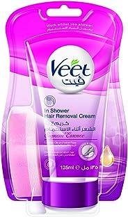 Veet Hair Removal In-Shower Cream Supreme Essence 135ml