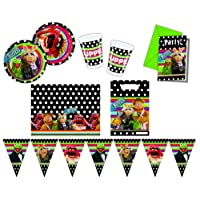 Procos 412264 - Kinderpartyset The Muppets, XL
