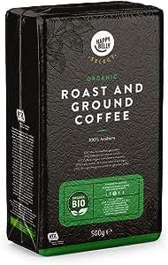 Marchio Amazon - Happy Belly Select Caffè biologico torrefatto e macinato - 4x500g
