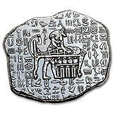Egyptian RELIC Series Anubis Republic of Chad OZ (G.) Plata 999moneda de colección Silver Coin