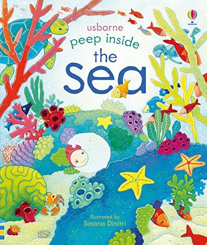 Peep Inside The Sea par Anna Milbourne