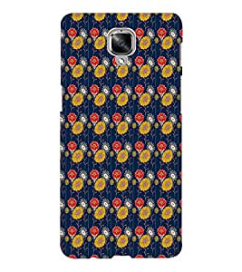 EPICCASE crazy sunflowers Mobile Back Case Cover For OnePlus Three (Designer Case)