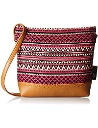 Kanvas Katha Women's Sling Bag (Multi-Colour) (KKSAMZJAN001)