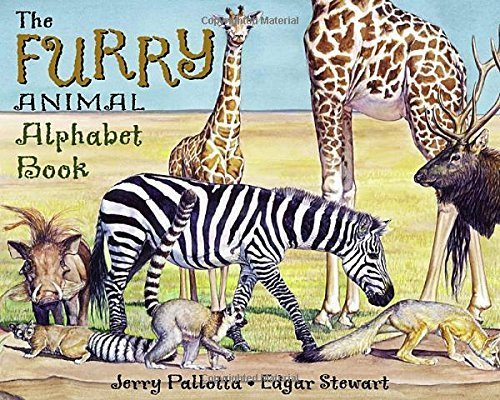 The Furry Animal Alphabet Book by Pallotta,