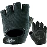 Power-Handschuh Komfort Gr.M F4-1 / Sport- , Fitness- , Freizeit-Handschuhe / Farbe: schwarz / Für Männer, Frauen, Damen, Herren