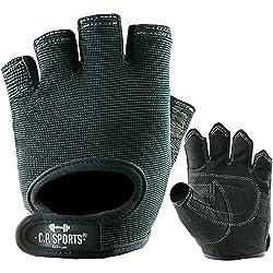 Power-Handschuh Komfort Gr.S F4-1 / Sport-, Fitness-, Freizeit-Handschuhe/Farbe: schwarz/Für Männer, Frauen, Damen, Herren