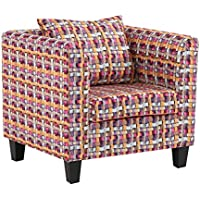 Preisvergleich für ALUK- small stool Nordic Stoff Sofa Einzel Abnehmbarer Sitz Freizeit einfacher Sitz