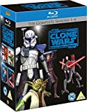 Star Wars - The Clone Wars - Season 1-4 Box [Blu-ray] [UK Import]