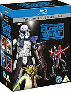 Star Wars: The Clone Wars - The Complete Seasons 1-4 [Blu-ray] [2012] [Region Free] (B005YYCLHW) | Amazon price tracker / tracking, Amazon price history charts, Amazon price watches, Amazon price drop alerts
