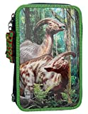 Depesche 10009 - Federtasche 3 Fach, Dino World 3D