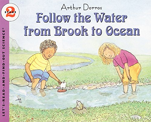 Follow the Water from Brook to Ocean (Let's Read-&-find-out Science) por Arthur Dorros