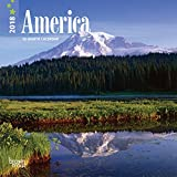 America 2018 Mini Wall Calendar