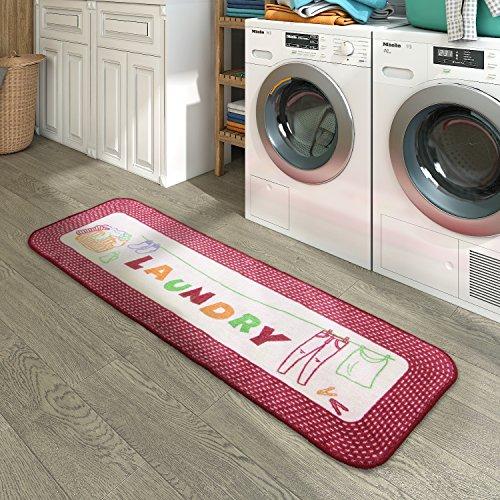 Lifewit Läufer Teppiche Flur 150x50cm in Mikrofaser für Waschküche Wohnzimmer Schlafzimmer Badezimmer Küche Flur großer Teppich des Dekors Maschinenwaschbar Extra-Long