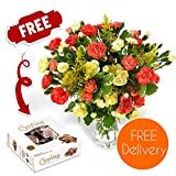 Fresh Flowers Delivered - Free UK Delivery - Blazing Spray...