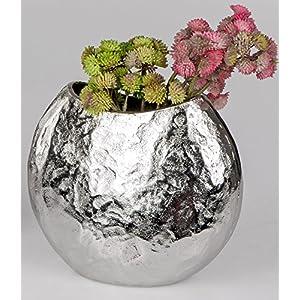 Vase Silber Gehammert Deine Wohnideen De