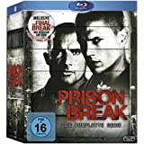 Prison Break: Staffel 1 - 4  (inkl. The Final Break) [Blu-ray]