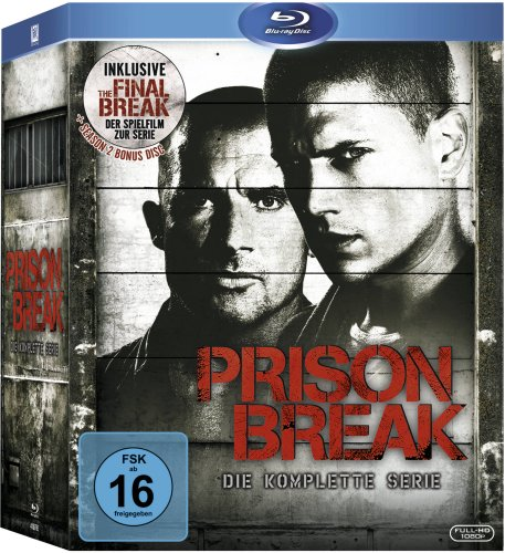 Vier Helle Freude (Prison Break: Staffel 1 - 4  (inkl. The Final Break) [Blu-ray])