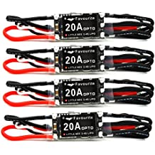 LHI Favourite 4Pcs Little Bee 20A 2~4 LiPo Battery OPTO ESC Brushless Speed Controller for F380 DJI F450/550 Quadcopter Multicopter