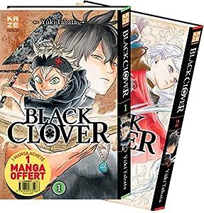 Black Clover Pack découverte Tomes 1 et 2