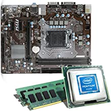Intel Pentium G4560 / ASUS H110M-A/M.2 / 16GB Mainboard Bundle | CSL PC Aufrüstkit | Intel Pentium G4560 2x 3500 MHz, 16GB RAM, Intel HD Graphics 610, GigLAN, 7.1 Sound, USB 3.1 | PC Tuning Kit