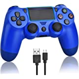 YUXIAN Wireless Controller Joystick Compatible with PlayStation 4, Remote Controller Gamepad Supports PS4/ Windows…