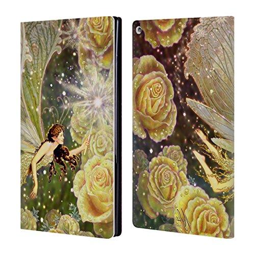 Offizielle Myles Pinkney Karamellbonbon Fantasy Brieftasche Handyhülle aus Leder für Amazon Fire HD 10