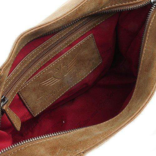 Fritzi aus Preußen Svea Vintage Handtasche 33 cm terra1