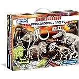 Clementoni - Depredadores y presas, juego con dinosauros (55110.1)