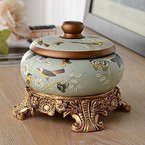 qwer Villaggio americano Posacenere in ceramica resina