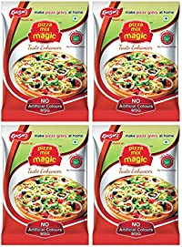 Khushi's Pizza Mix Magic Seasoning 50gm (Pack of 4)