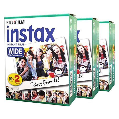 Wide Instant Photo 60 Film for Instax Wide 210 200 100 300 Camera ()