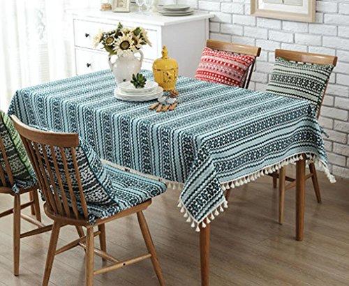 ZC&J Home Hochzeit Tischdecke Restaurant Tischdecke TV-Set Klimaanlage Mehrzweck-Abdeckung Tuch Handtuch Tischdecke Dekoration,B,140*200cm