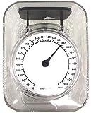 car-tuningsde Analoge Mini Küchenwaage zum Wiegen und Messen, misst präzise von 20g - 1kg, ml, Professionelle Waage zum messen von Gewichten, Platzsparend und transparent