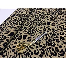 Suave Polvo Touch 100% viscosa Animal Prints Vestidos/Craft tela
