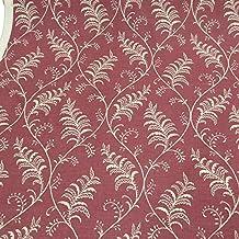 Tela decorativa (Albery Vintage Farne Rojo Marrón Beige
